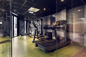 interieur fitnessruime